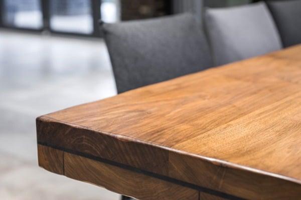 closeup of a luxurious table corner