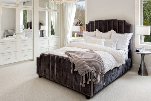 cozy master bedroom idea photo