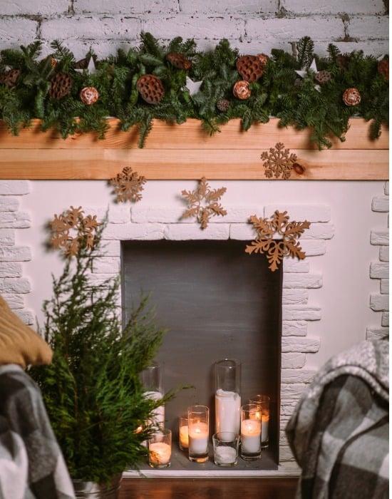 decorative garland holiday
