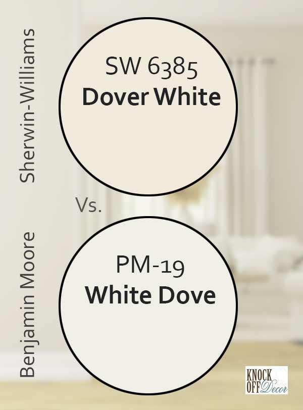 dw vs white dove