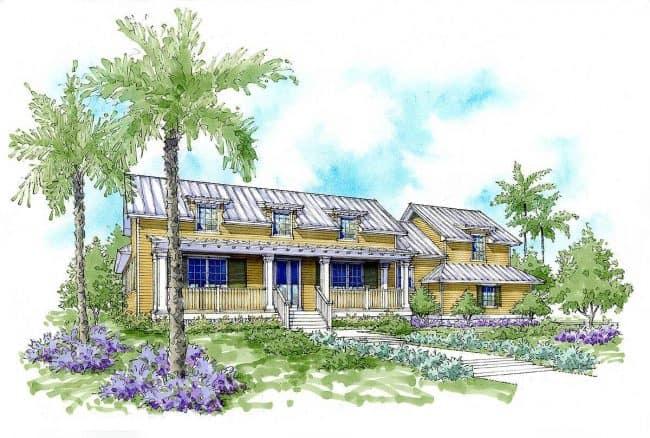 energy efficient house l shaped lanai 33161zr23