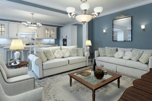lounge room mediterranean style