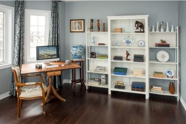 personal items decor shelves
