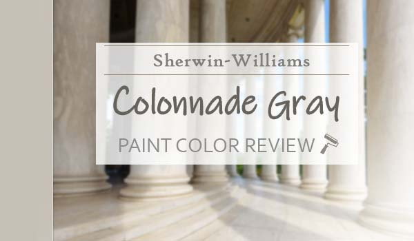 sw colannade paint color review