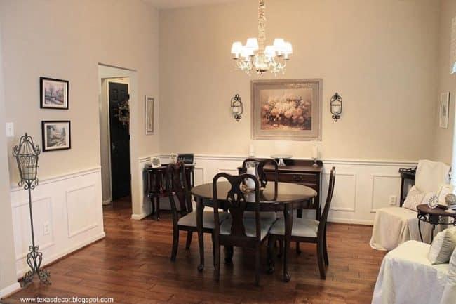 SW Kilim Beige used in dining room