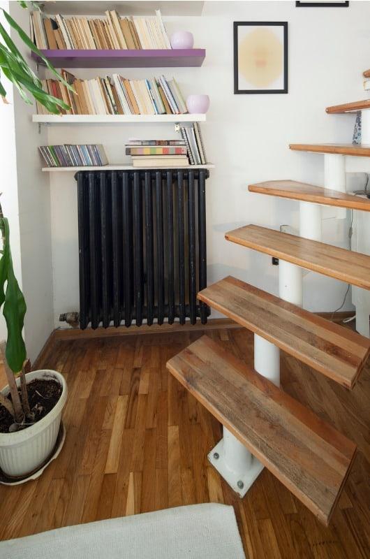 tall radiator decor