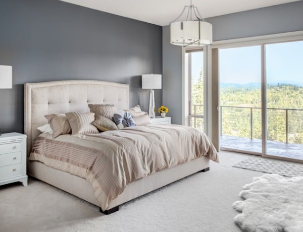 updated master bedroom decor