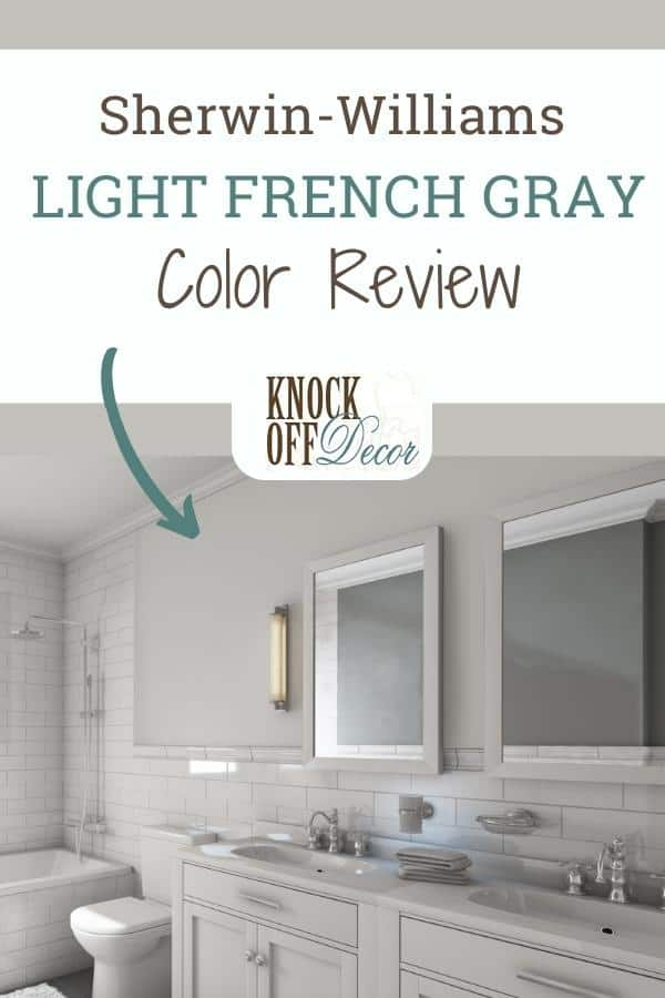 SW Light French Gray pin