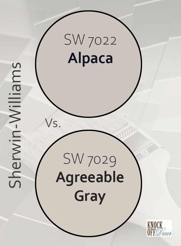 alp vs agreeable gray