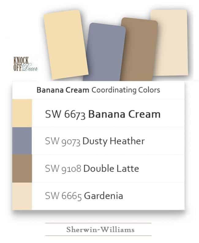 banana cream coordination