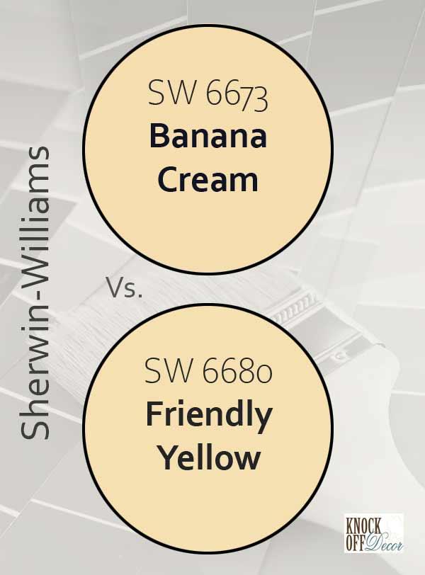 banana cream vs friendly yellow