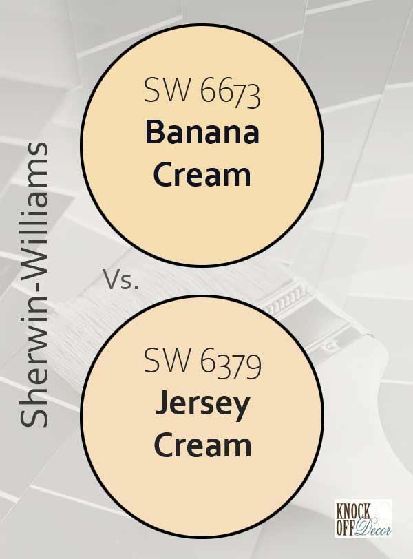 banana cream vs jersey cream