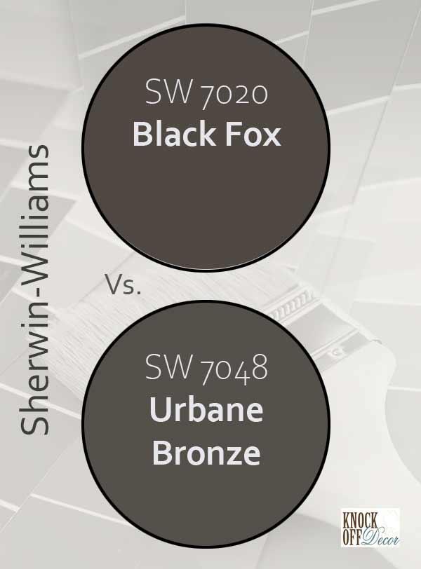 bf vs urbane bronze