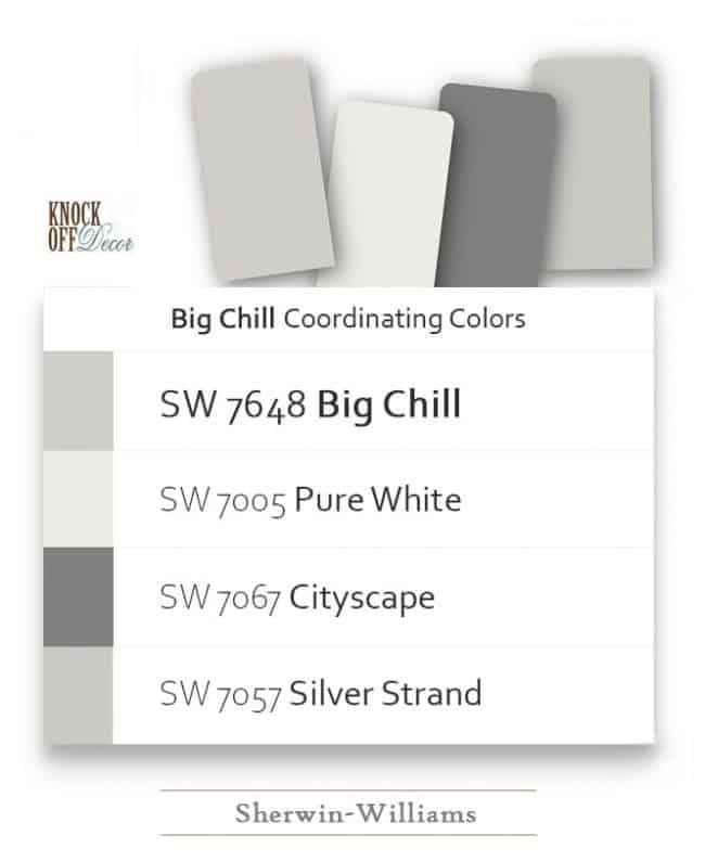 big chill colors coordination