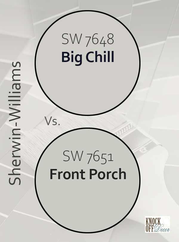 big chill vs front porch
