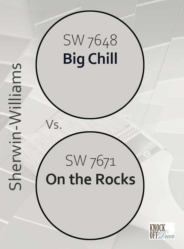 big chill vs on the rocks