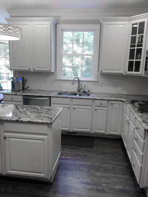 kitchen light french gray