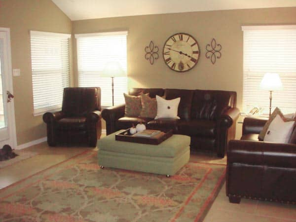latte family room example