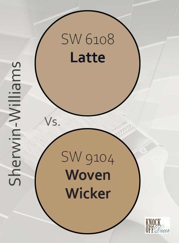 latte vs woven wicker