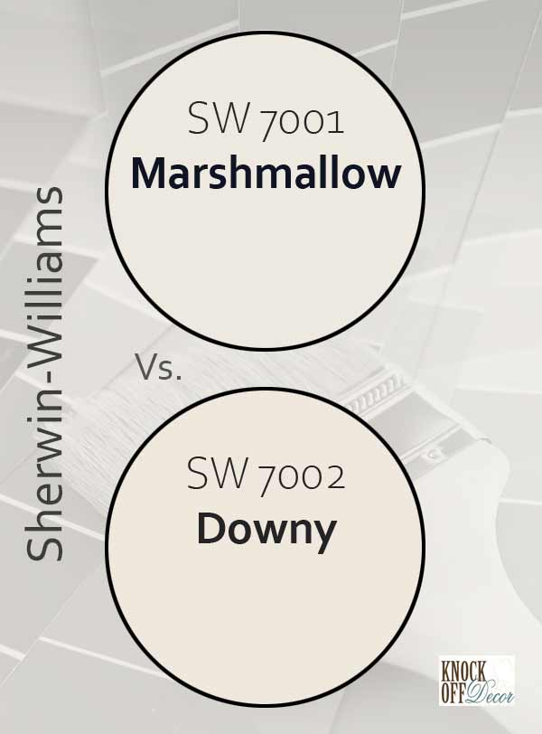marshmallow vs downy
