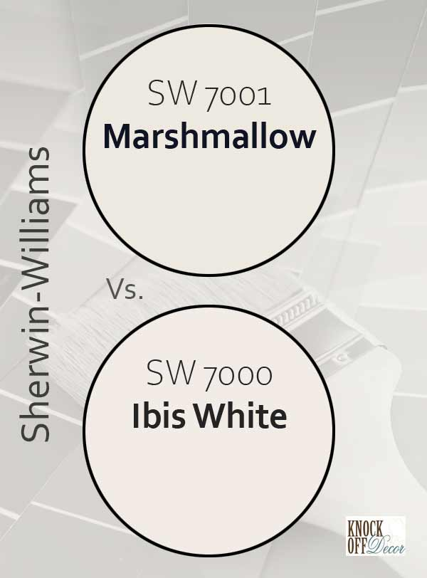 marshmallow vs ibis white