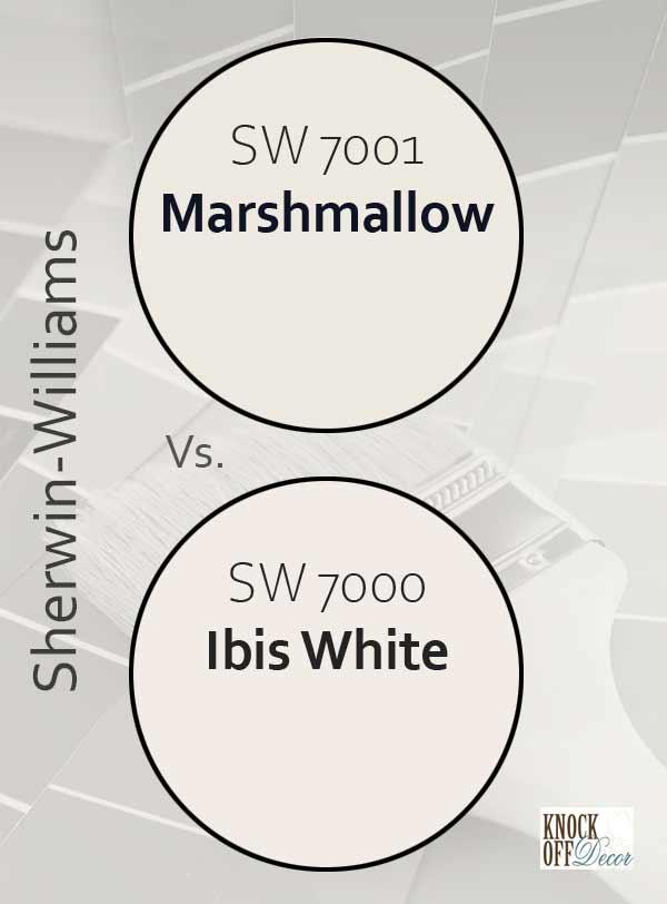marshmallow vs ibis white