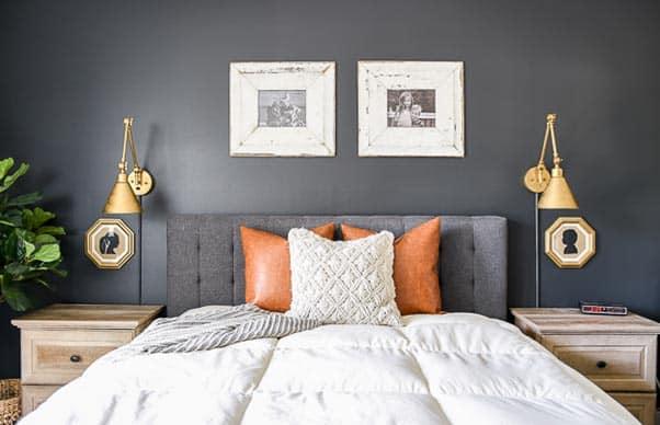master bedroom iron ore