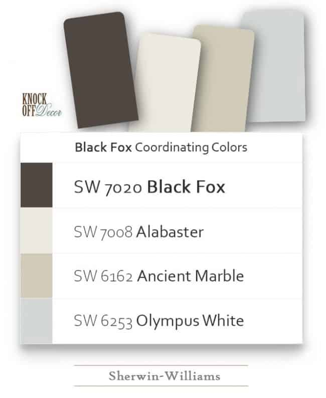 pairing colors sw7020