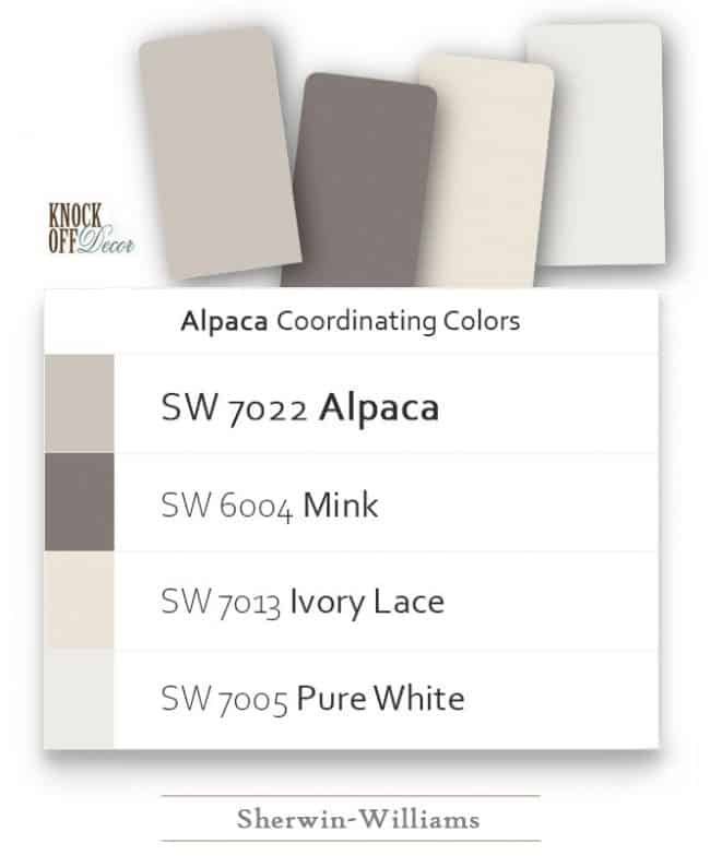pairing colors sw7022
