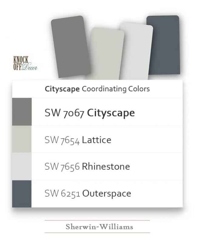 pairing colors sw7067