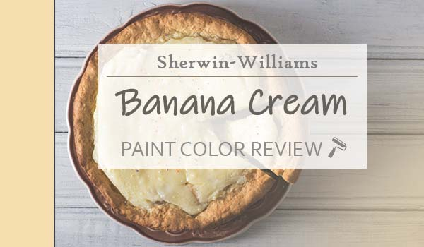 sw banana cream paint color review