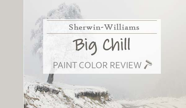 sw big chill paint color review