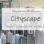 sw cityscape paint color review