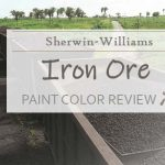 sw iron ore paint color review
