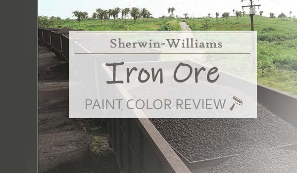 sw iron ore paint color review