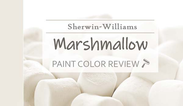 sw marshmallow paint color review
