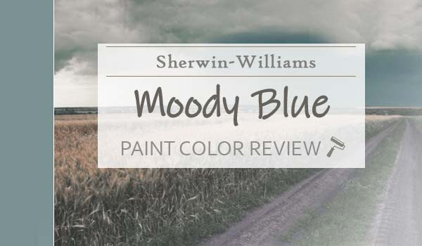 sw moody blue paint color review