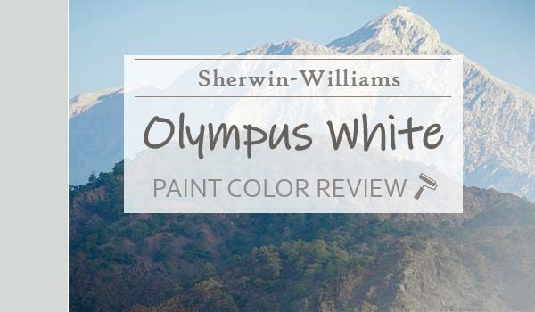 sw olympus white paint color review
