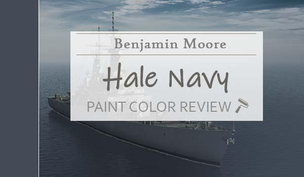 bm hale navy paint color review