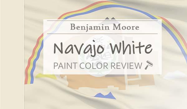 bm navajo white paint color review