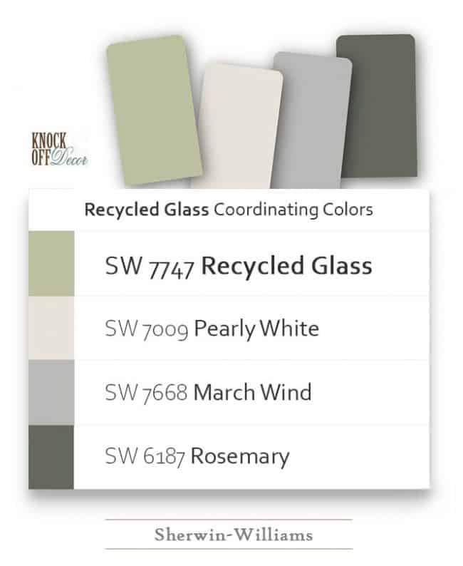 recycled glass coordination