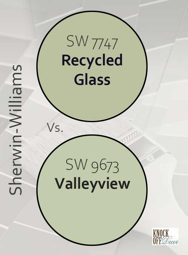 recycled glass vs valleyview