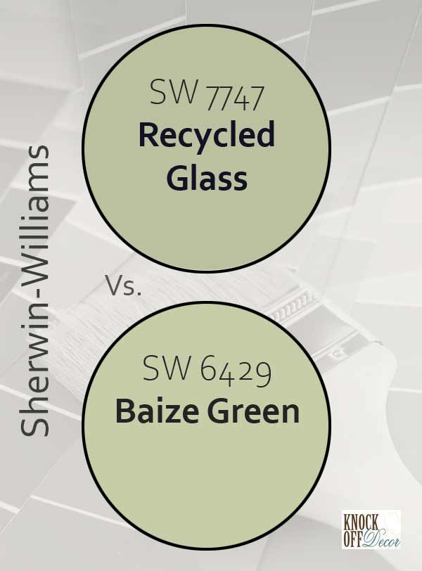 recycled green vs baize green