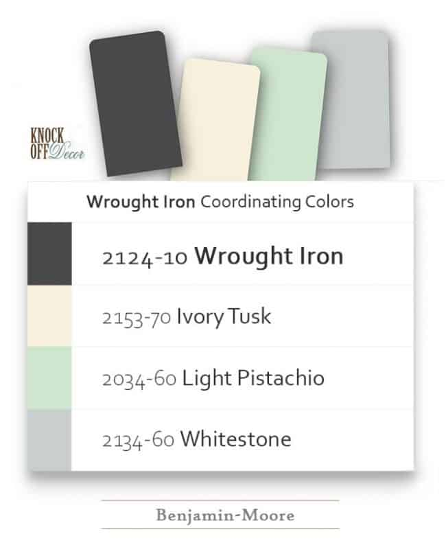wrought iron coordination