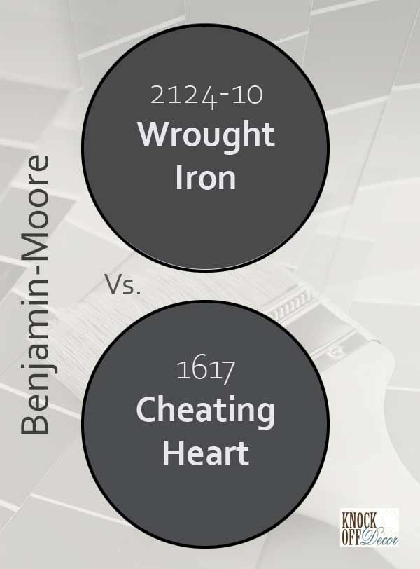 wrought iron vs cheating heart