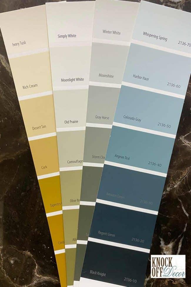 BM Aegean teal palette