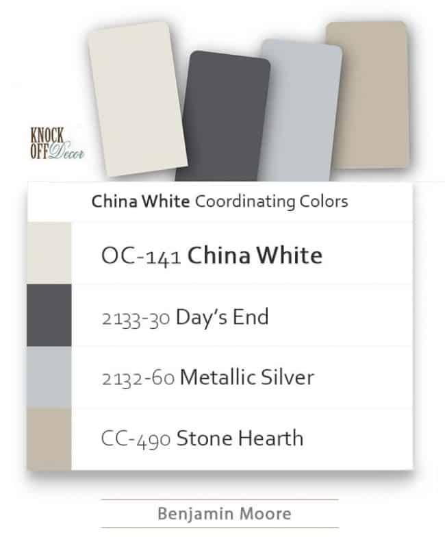 China white coordination