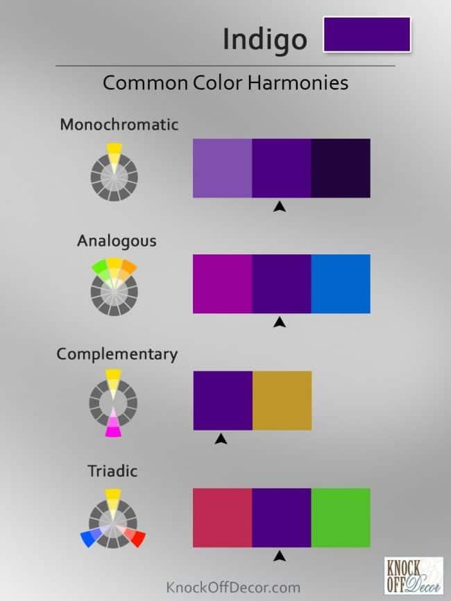 Color coordinations indigo 1