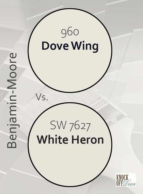 Dove wing vs white heron