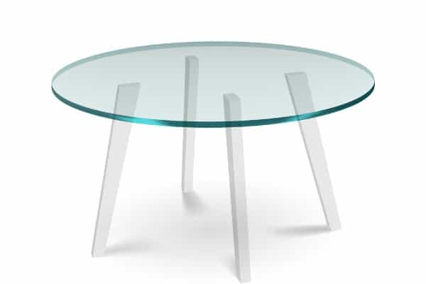 Glass Top On Plastic Table Legs